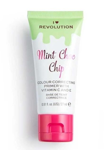 I ♥ Revolution Mint Chocolate Chip Primer Korygująca baza pod makijaż 27 ml