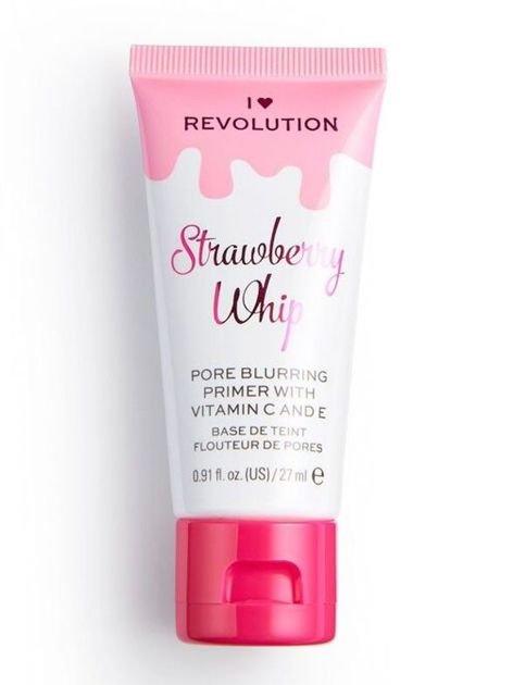 I ♥ Revolution Strawberry Whip Primer Baza pod makijaż zmniejszająca widoczność porów 27 ml