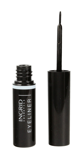 "INGRID Eye Liner Liquid nr 008 Carbon Black  4ml"""
