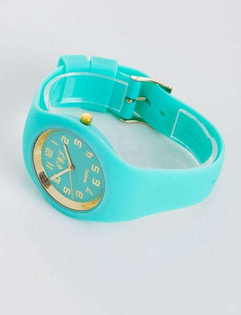 JELLY miętowy zegarek damski                               zdj.                              2