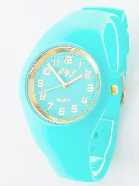 JELLY miętowy zegarek damski                               zdj.                              1