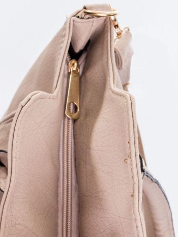 Jasnobeżowa torba shopper bag                                  zdj.                                  11