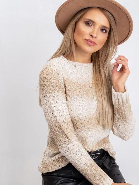 Jasnobeżowy sweter Agatha                              zdj.                              6