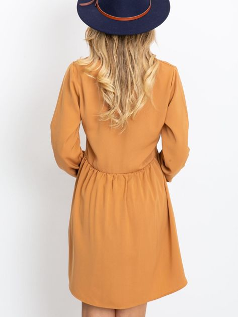 Jasnobrązowa sukienka Reason                              zdj.                              2