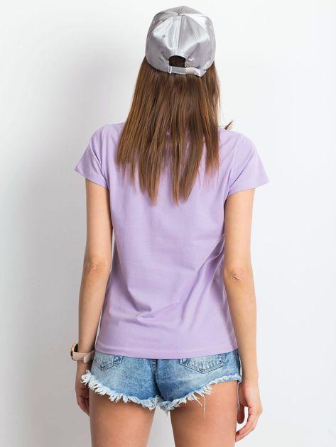 Jasnofioletowy t-shirt Square                              zdj.                              2