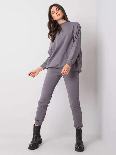 Jasnografitowe spodnie Faster