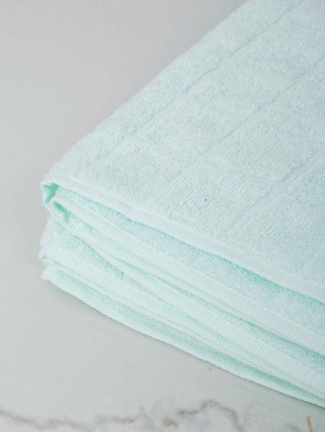 Jasnomiętowy ręcznik kąpielowy                              zdj.                              4