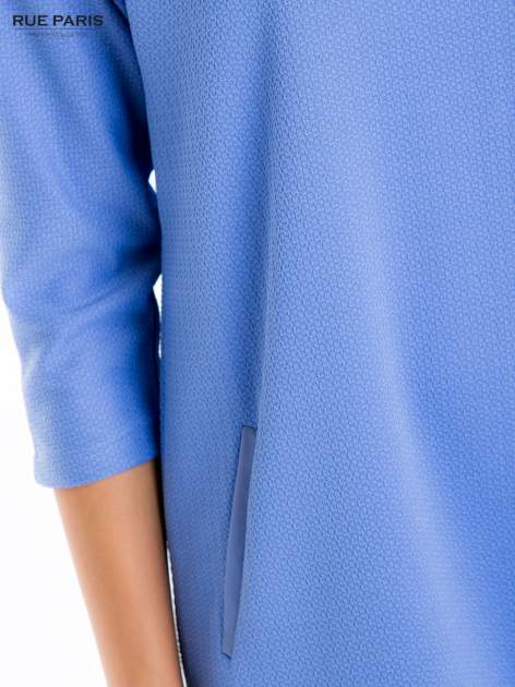 Jasnoniebieska prosta sukienka                                  zdj.                                  6