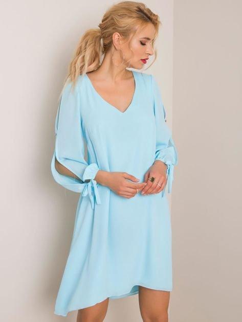 Jasnoniebieska sukienka Jessica