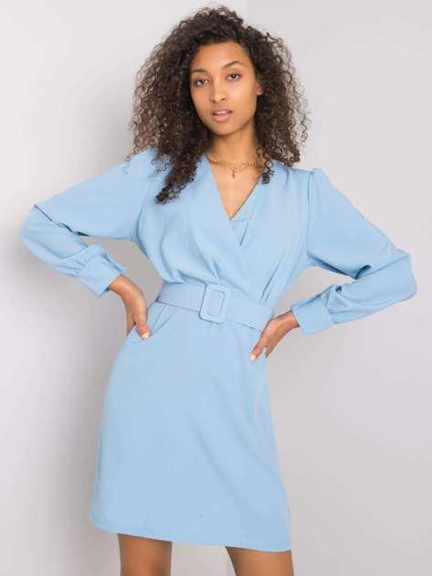 Jasnoniebieska sukienka Kelly