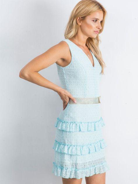 Jasnoniebieska sukienka Versatility                              zdj.                              3