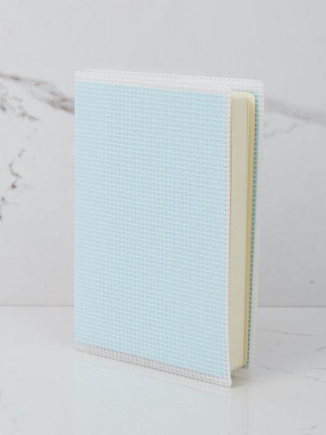 Jasnoniebieski notatnik                              zdj.                              1
