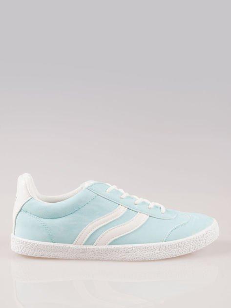 Jasnoniebieskie buty sportowe w stylu casual Kash                                  zdj.                                  1