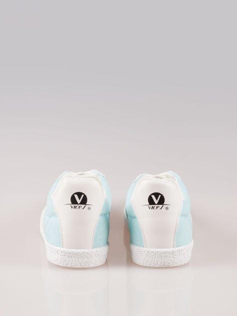 Jasnoniebieskie buty sportowe w stylu casual Kash                                  zdj.                                  3