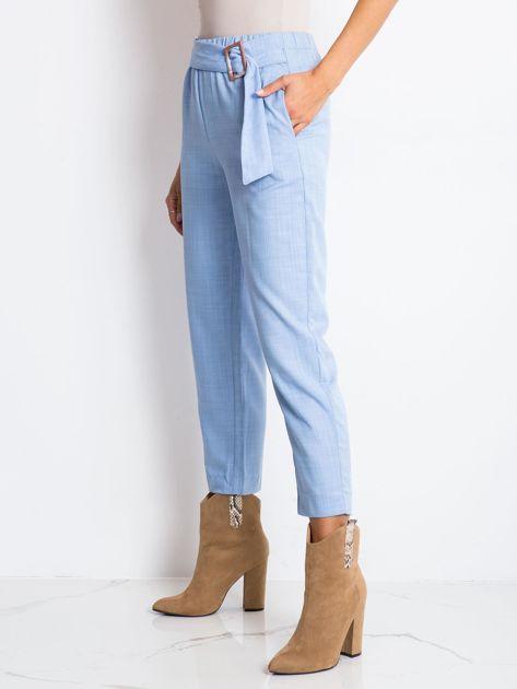Jasnoniebieskie spodnie Drive                              zdj.                              3