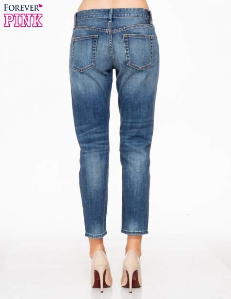 Jasnoniebieskie spodnie girlfriend jeans z cieniowaniem                                  zdj.                                  4