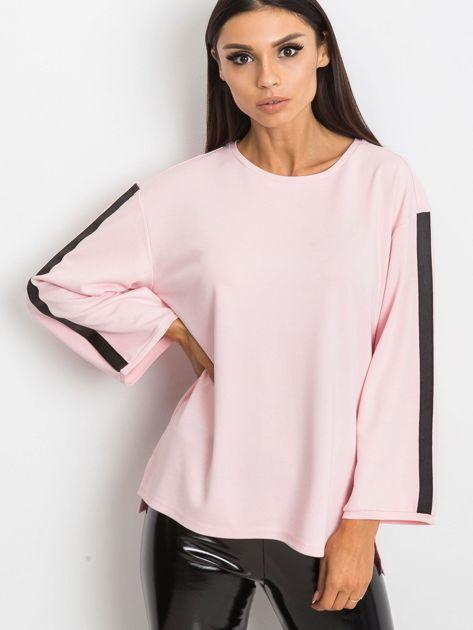 Jasnoróżowa bluzka Glam                              zdj.                              1
