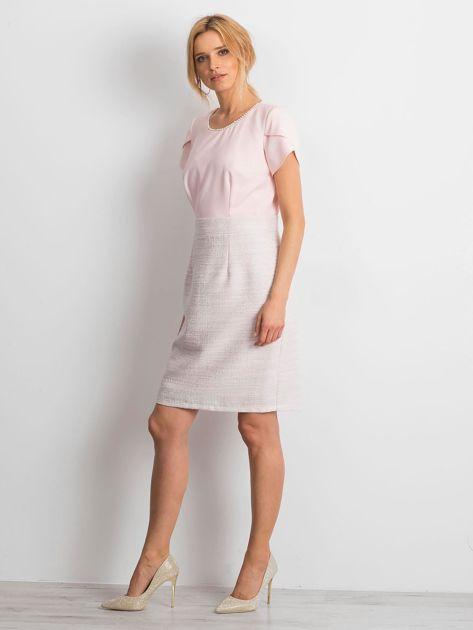 Jasnoróżowa sukienka Breathtaking                              zdj.                              4