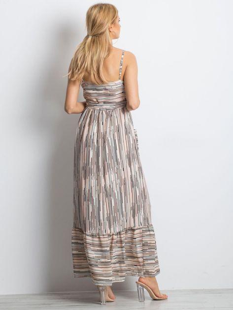 Jasnoróżowa sukienka City break                              zdj.                              2
