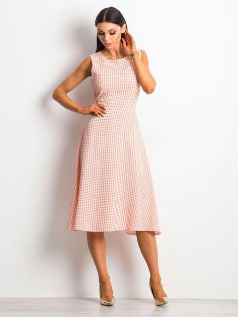 Jasnoróżowa sukienka Respected                              zdj.                              4