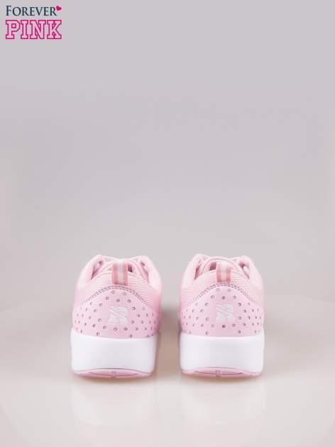 Jasnoróżowe buty sportowe New York z siateczką i poduszką powietrzną w podeszwie                                  zdj.                                  3