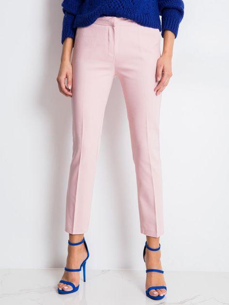 Jasnoróżowe spodnie Jessy                              zdj.                              1