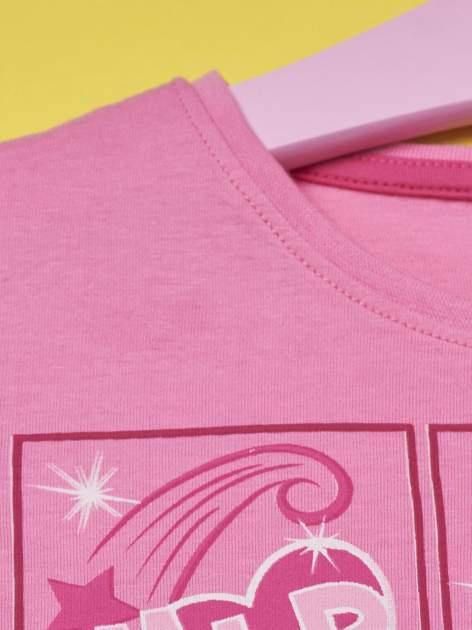 Jasnoróżowy t-shirt dla dziewczynki MY LITTLE PONY                                  zdj.                                  3