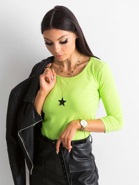 Jasnozielona bluzka Mona                              zdj.                              1