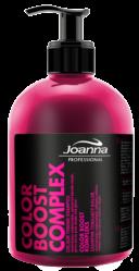 Joanna PROFESSIONAL COLOR BOOST KOMPLEKS Szampon tonujący kolor do blondów (różowa poświata) 500 g                              zdj.                              1