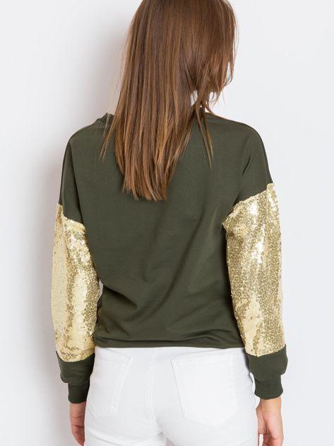 Khaki bluza Mirror                              zdj.                              2