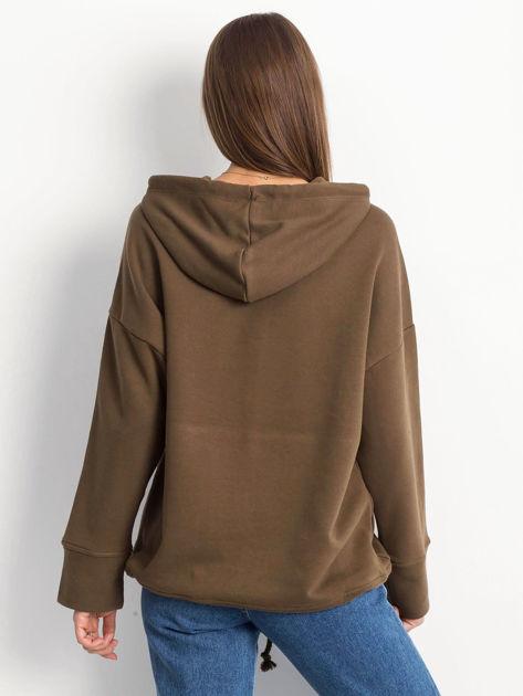 Khaki bluza Replicating                              zdj.                              2