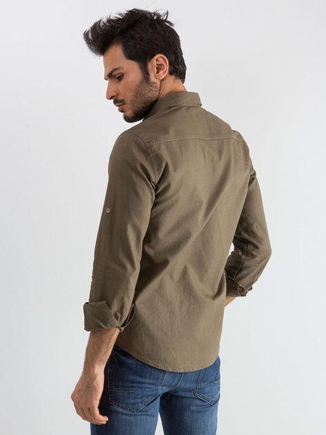 Khaki koszula męska Superior                              zdj.                              2