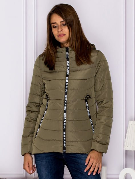 Khaki kurtka BEST CLASSIC                              zdj.                              1