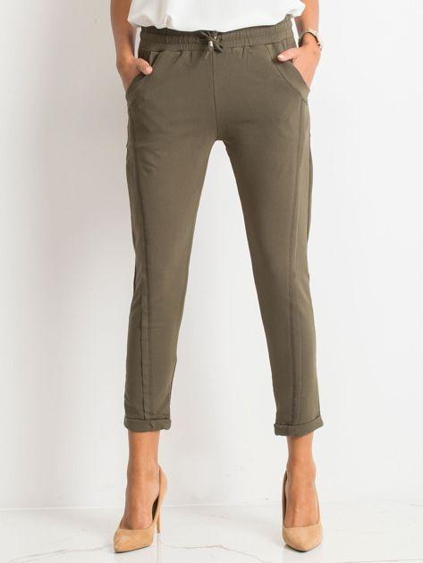 Khaki spodnie Approachable                              zdj.                              1