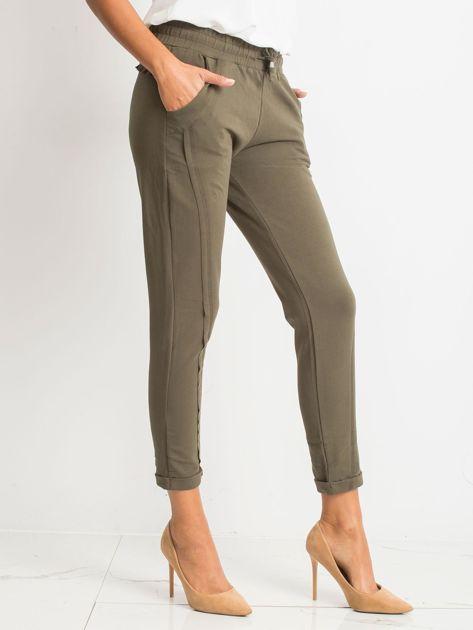 Khaki spodnie Approachable                              zdj.                              3