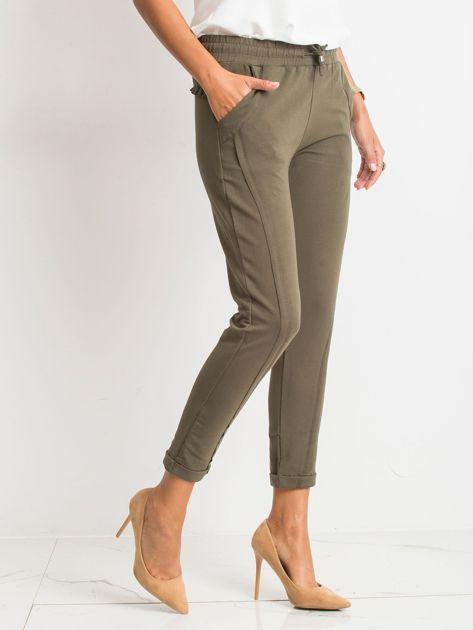 Khaki spodnie Approachable                              zdj.                              5