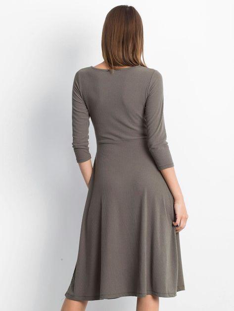 Khaki sukienka Everywhere                              zdj.                              2