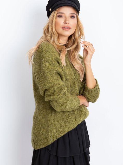 Khaki sweter Bali                              zdj.                              3