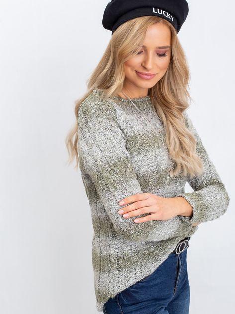 Khaki sweter Tracey                              zdj.                              3