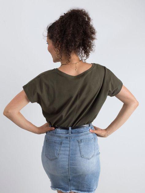 Khaki t-shirt Emory                              zdj.                              2