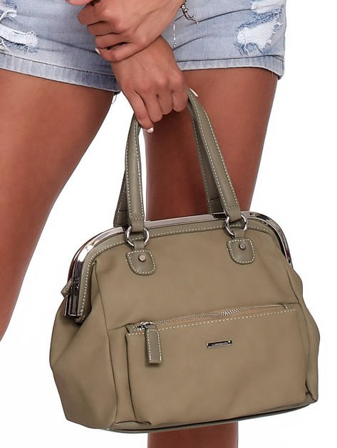 Khaki torba damska vintage                              zdj.                              2