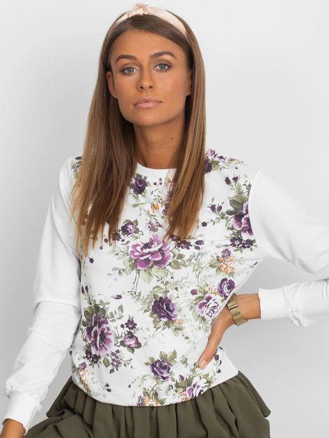 Klasyczna bluza w kwiatowy print                              zdj.                              1