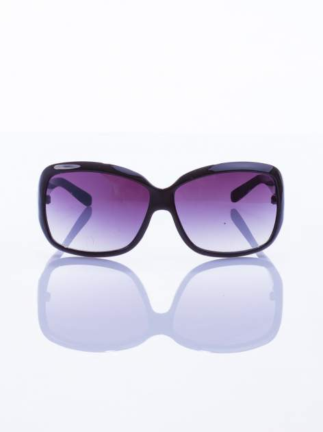 "Klasyczne damskie okulary ""muchy""                                  zdj.                                  2"
