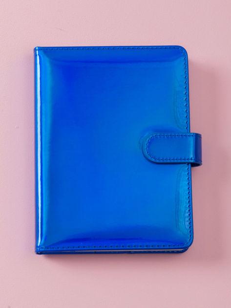 Kobaltowy lustrzany notes                              zdj.                              4