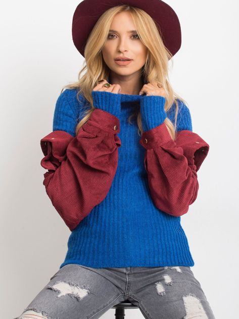 Kobaltowy sweter Milo                              zdj.                              5