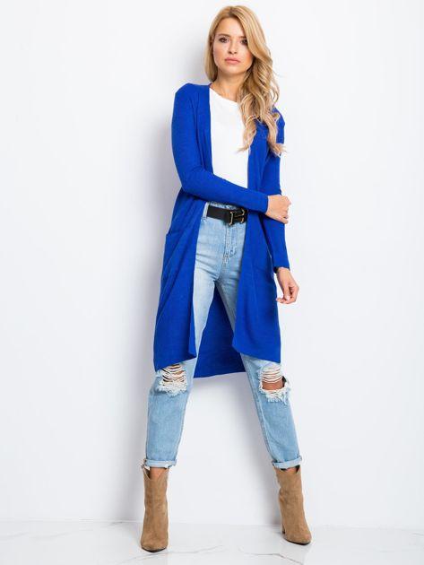 Kobaltowy sweter Touch                              zdj.                              4
