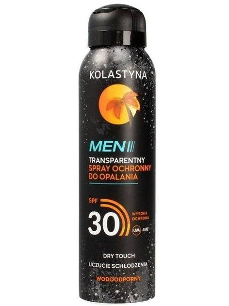 Kolastyna Opalanie Transparentny Spray ochronny do opalania SPF 30 dla mężczyzn  150 ml