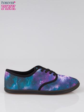 Kolorowe tenisówki z motywem kosmosu