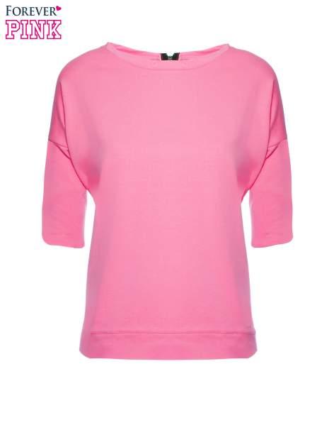 Koralowa bluza z suwakiem z tyłu                                  zdj.                                  2