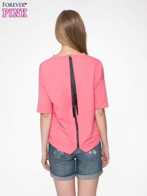 Koralowa bluza z suwakiem z tyłu                                  zdj.                                  5